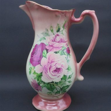 pichet vase roses stafford shire ironstone england