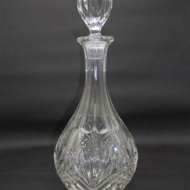 carafe cristal ronde motif ananas alcool vin eau goutte d eau