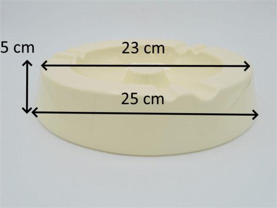 cendrier ceramique creme blanc casse repose cigarettes et cigares