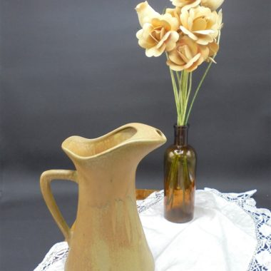 pot a eau pichet broc gres vintage rhoda ceram vaisselle
