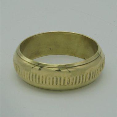 bracelet dore en laiton
