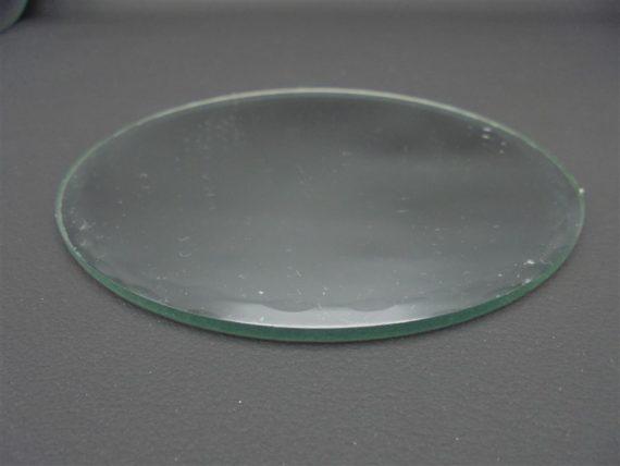 miroir rond a poser bord biseaute deco