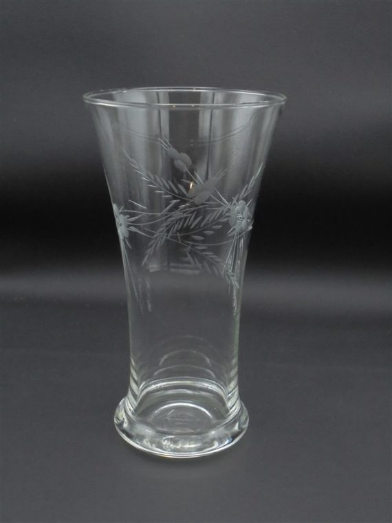 pinte chope verre biere decor cisele epi orge