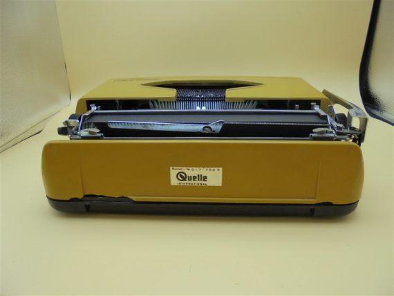 machine a ecrire vintage privileg 270T couleur cafe