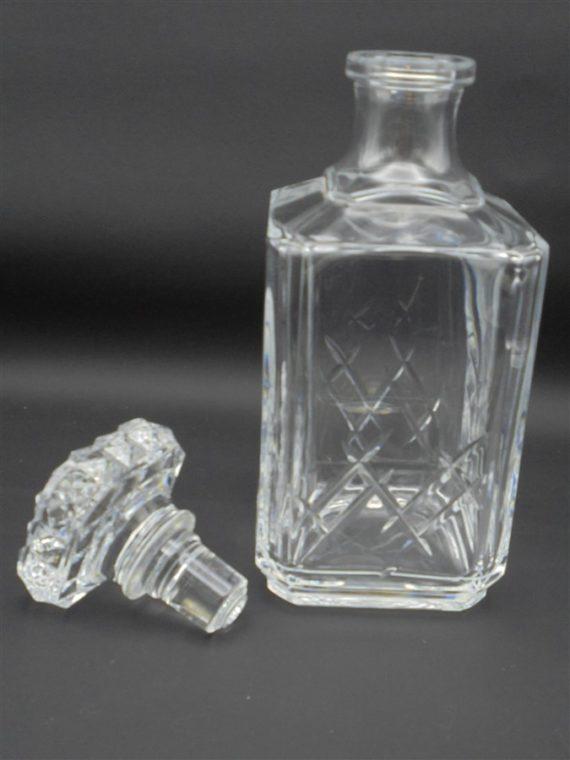 carafe a whisky en cristal