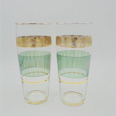 paire de verres a orangeade the sirop