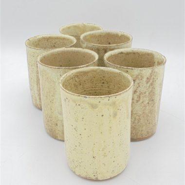 gobelets vintage gres clair eau the cafe vaisselle