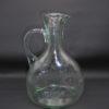 ancien pot a eau pichet en verre epais