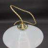 ancienne suspension opaline verre blanc griffe laiton luminaire vintage