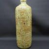 vase soliflore en gres flacon bouteille decor grave fougeres