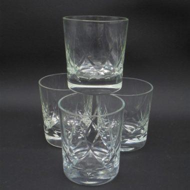 gobelets a whisky en cristal petits verres