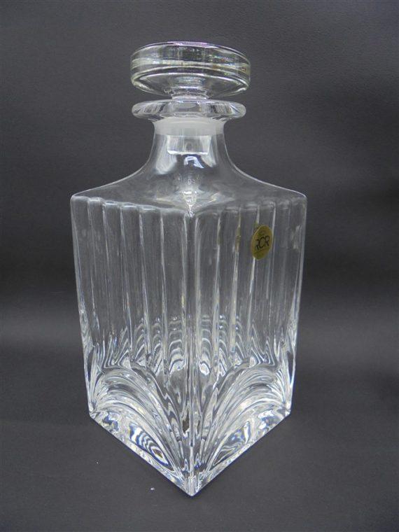 carafe whisky alcool cristal RCR