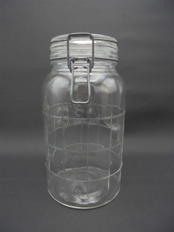 bocal de conservation en verre