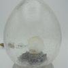 lampe oeuf verre craquele
