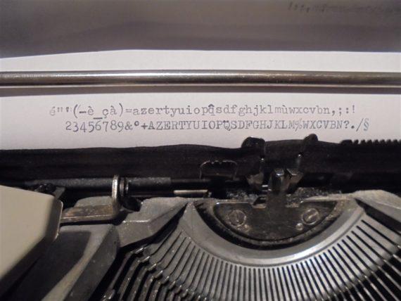 machine a ecrire vintage underwood 310