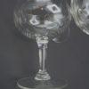 ancien service coupes champagne decor cisele