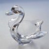 cendrier vide poche cristal vannes cygne