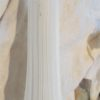 anciennes appliques murales verres blancs et laiton