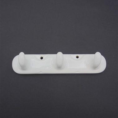 pateres porcelaine ancien support crochets gants de toilette