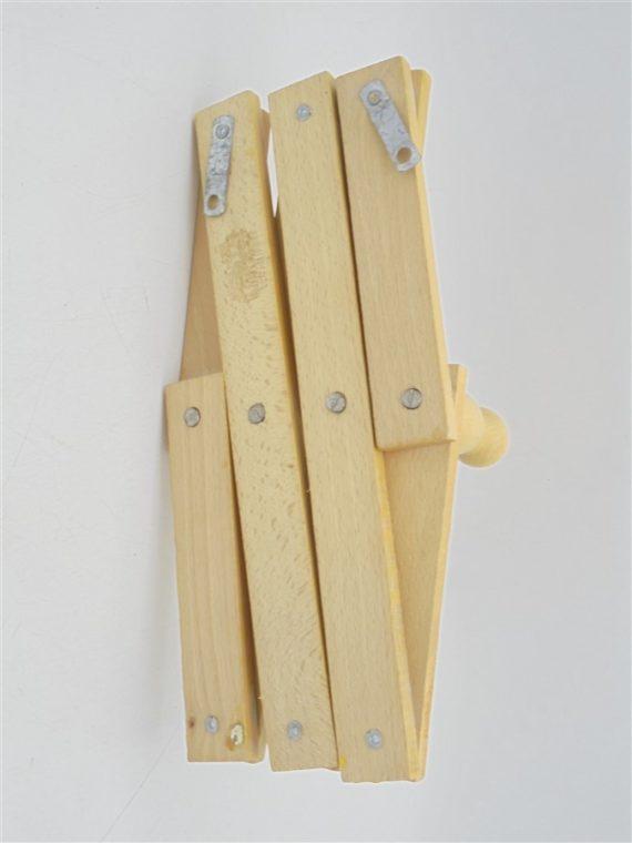 portemanteau pateres accordeon bois pliant pliable