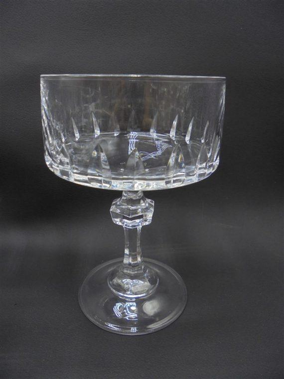 coupes champagne cristal d arques modele vendome