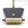 ancienne lampe de bureau aluminor calendrier integre noir granite annees 50 revetement graine