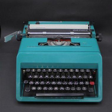 machine a ecrire vintage olivetti studio 45