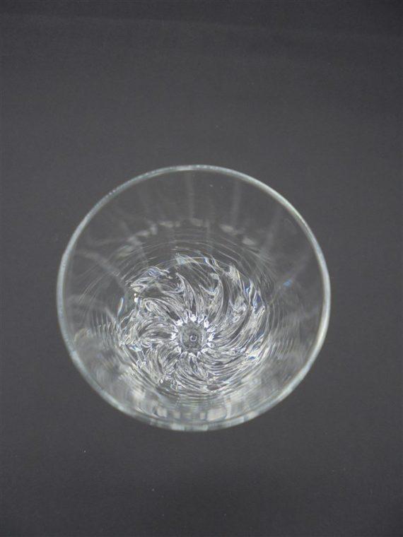 flute a champagne esprit vintage art deco en verre