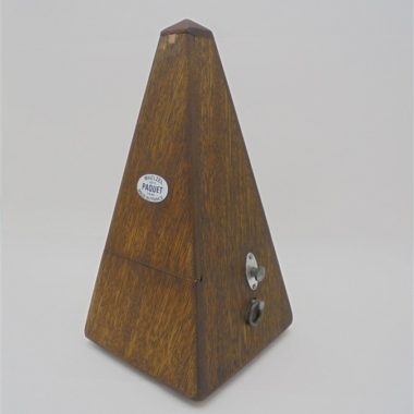 metronome vintage bois maelzel 1815 paquet 1846 made in france