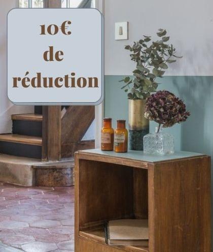 10€ reduction promo remise selection brocante accessoires deco vintage