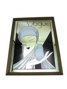 miroir art deco vogue femme annees 30