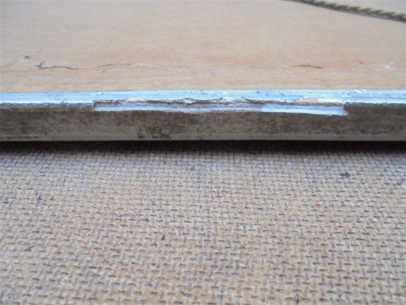 ancien miroir art deco art nouveau bois gris