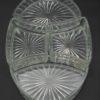coupelles en verre formant un plat ovale