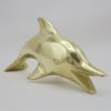 dauphin figurine laiton animaliere zoomorphe deco