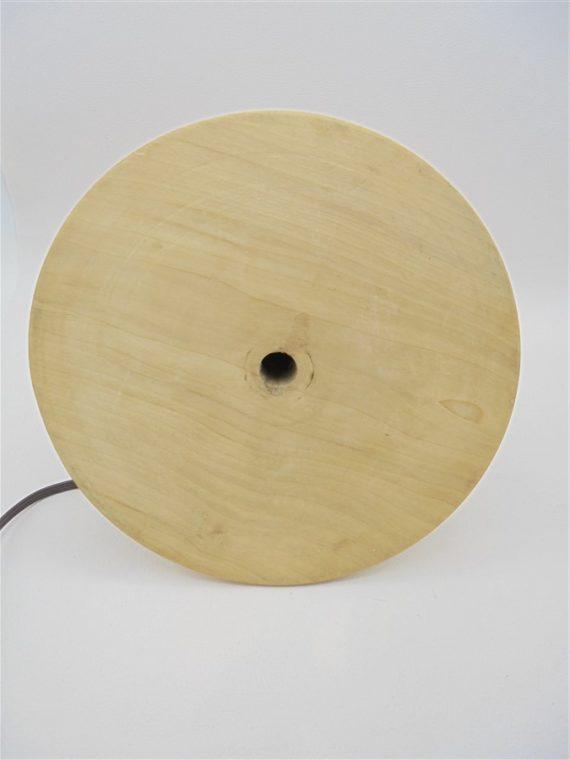 ancien pied de lampe en bois tendance matieres naturelles