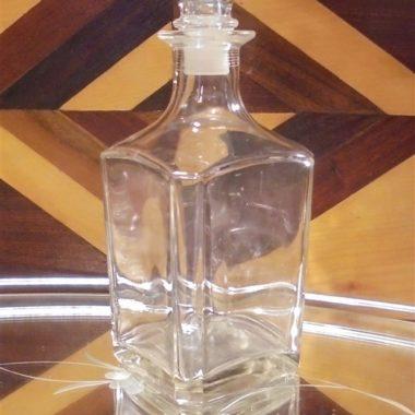carafe a whisky en verre