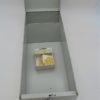 ancienne boite en metal de rangement fiches chasseur valrex gris