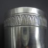 timbale ancien gobelet cadeau naissance metal argente frise a palmettes