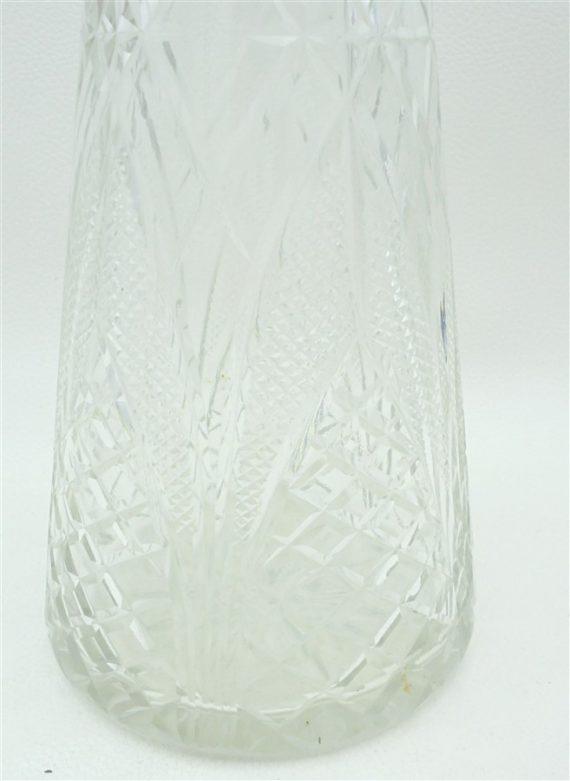 carafe cristal cisele