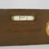 ancien niveau en bois