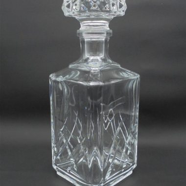 carafe a alcool whisky cognac en cristal