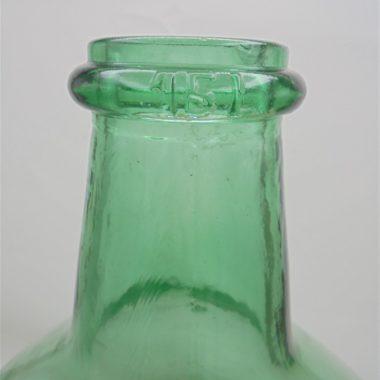 dame jeanne bonbonne verre vert 15 litres