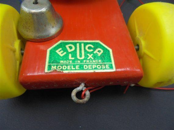 ancien jouet en bois educalux