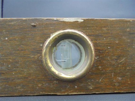 ancien niveau en bois bricolage vintage outils