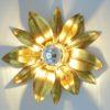 applique fleur vintage doree italienne sesto fiorentino