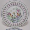 assiettes chinoises en porcelaine emaillee