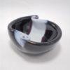 coupelle vide poche pate de verre style murano violet aubergine