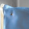 petit sac bandouliere vintage adidas plastique bleu