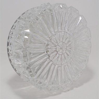 plafonnier applique vintage rond en verre luminaire ancien