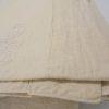 ancien drap metis metisse lin coton linge de maison de lit ecru